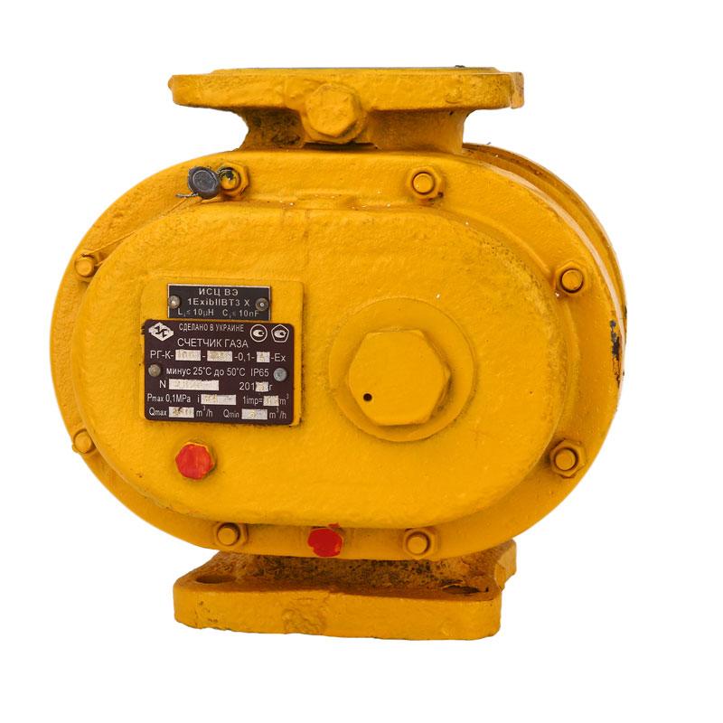 Ротационные счетчики газа РГК-Ех(G40)