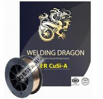Проволока Welding Dragon ErCuSi-A 1.0 мм 5 кг (D200) фото